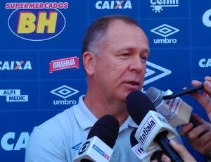 Mano Menezes, técnico do Cruzeiro (Foto: Raphael Lemos)