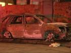 Corpo é encontrado dentro de carro em chamas no Caju, Rio