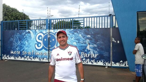 Torcedor Fluminense Barrado (Foto: Rafael Cavaliere)