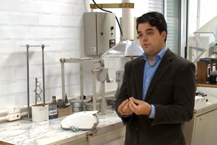 Ezequiel Vedana da Rosa, 27 anos, sócio e idealizador do produto que elimina água na descarga