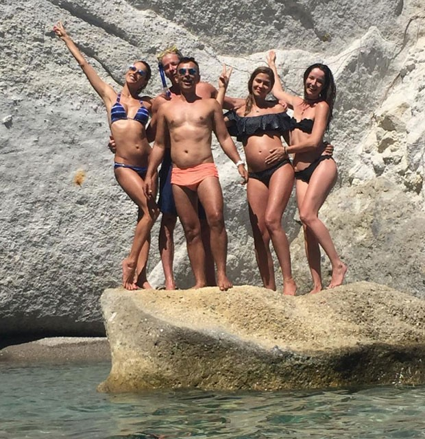 Ale Ambrosio, Benjamin Cohen, Gil, Ana Beatriz Barros e Renata Maciel  (Foto: Reprodução)