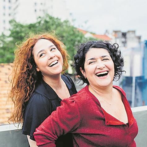 Debora Lamm e Inez Viana  (Foto: Elisa Mendes)