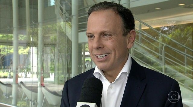 João Doria (PSDB) dá entrevista ao SP1