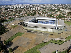 Arena Pantanal em Cuiabá (Foto: Edson Rodrigues/Secopa)
