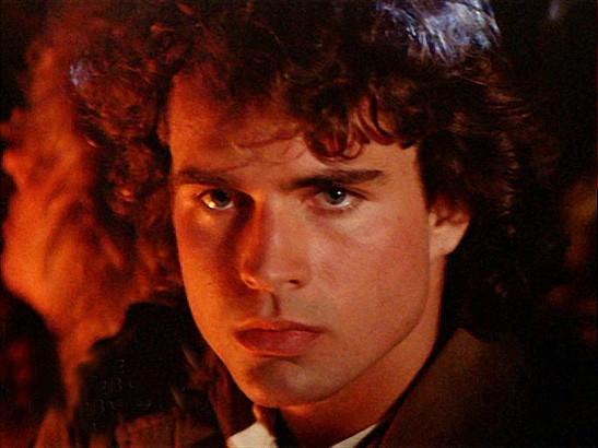 Jason Patric em cena de Os Garotos Perdidos, de 1987 (Foto: Divulgação)