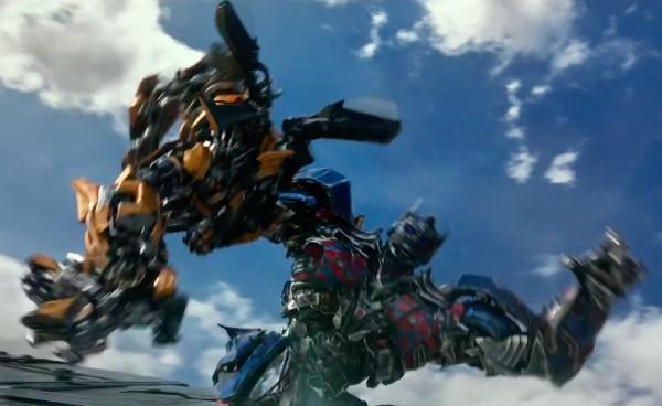 Uma cena do trailer do novo filme da série 'Transformers' (Foto: Reprodução)