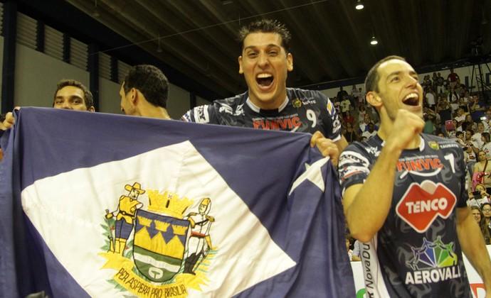 Vôlei Taubaté campeão Copa Brasil (Foto: Alexandre Arruda/CBV)