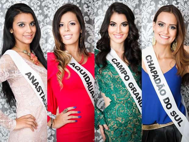Candidatas do Miss MS (Foto: Alexis Prappas)