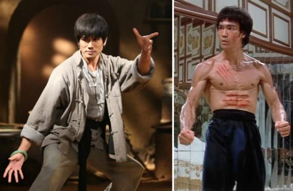 O lutador Bruce Lee interpretado por Philip Ng em Birth of the Dragon (Foto: Reprodução)