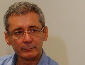 Presidente do Botafogo-PB, Nelson Lira (Foto: Renata Vasconcellos)