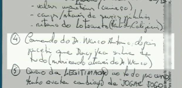Marcelo Plastino afirma que a ex-prefeita Dárcy Vera sabia de tudo (Foto: Reprodução/EPTV)