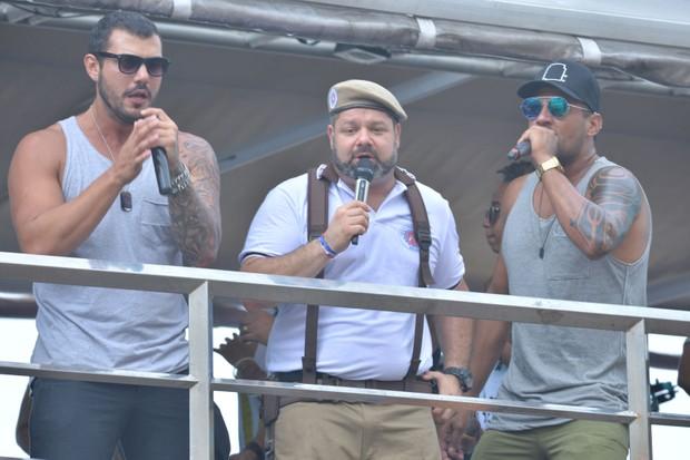 Daniel Vieira no trio elétrico em Salvador (Foto: Max Haack/Ag Haack)
