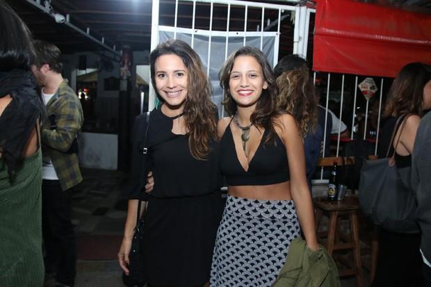 Juliana Knust e Lara Coutinho (Foto: Daniel Pinheiro/AgNews)