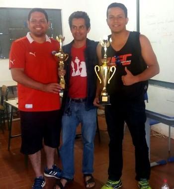 Acreano vence estadual de xadrez em Rondônia (Foto: Marcos Venicius Feitosa/ arquivo pessoal)