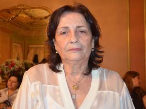 Maria do Carmo Déda, irmã do governador de Sergipe, lembra do legado do pai e político que teve a trajetória interrompida pelo câncer (Foto: Marina Fontenele/G1)