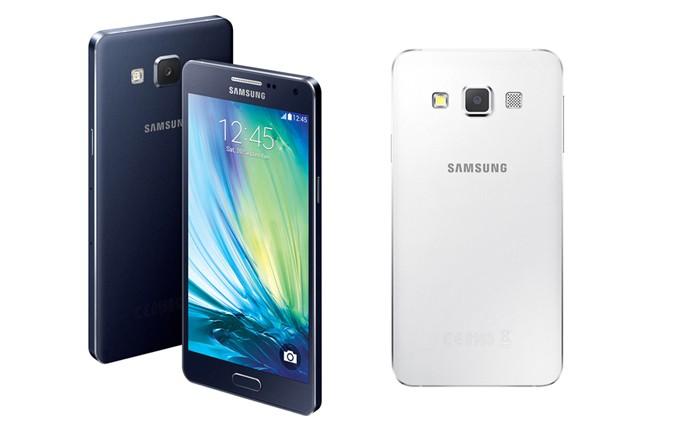 A5 e A3 são os novos smarts da Samsung com acabamento metálico (Foto: Divulgação)