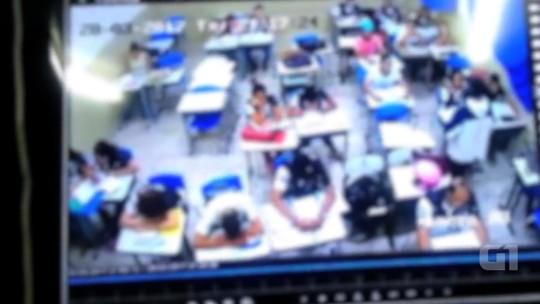 Polícia prende suspeitos de fazer arrastão dentro de colégio em Abadia de Goiás