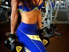 Scheila Carvalho mostra corpo saradíssimo após treino: 'Bom dia'