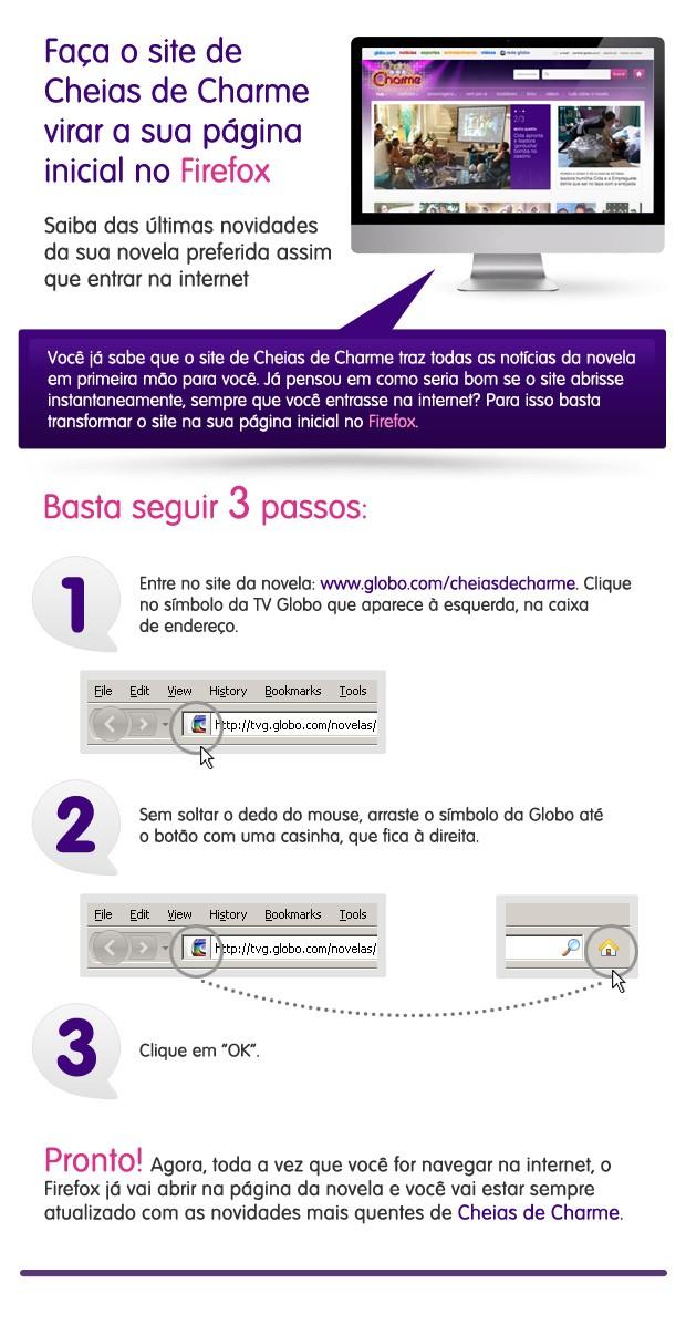 firefox (Foto: Cheias de Charme / TV Globo)