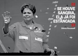 FAXINA A presidente Dilma Rousseff. Ela diz que, em seu governo, houve uma limpeza na Petrobras (Foto: João Carlos Mazella/AgÍncia JCM/Fotoarena)
