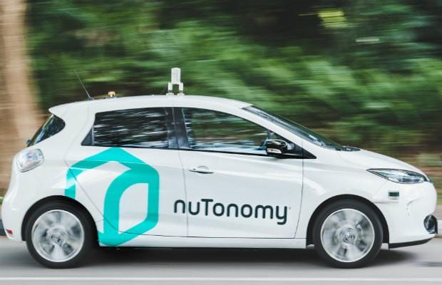 Táxi autônomo desenvolvido pela nuTonomy (Foto: Divulgação/nuTonomy)
