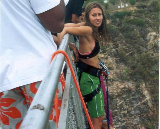 Dani Monteiro e os esportes radicais (Foto: Arquivo Pessoal)