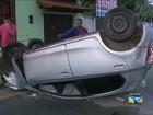Acidente com capotamento é registrado em São Luís