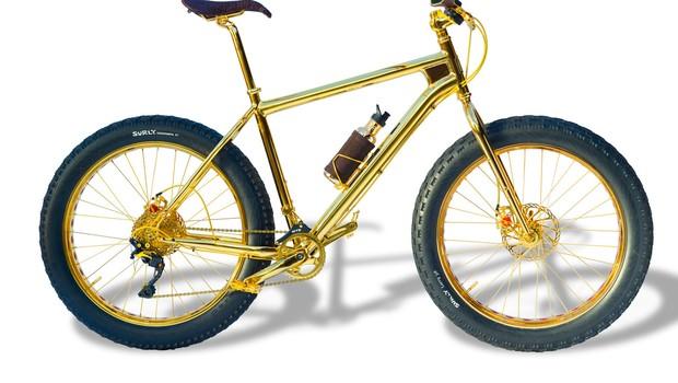 Bicicleta de ouro da THSG (Foto: Divulgação)