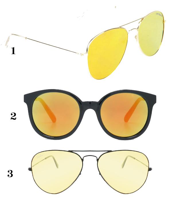 Óculos amarelo (Foto: Divulgação)
