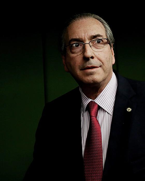O deputado Eduardo Cunha (acima).Os funcionários dizem que fazim campanha (Foto: Adriano Machado/ÉPOCA)
