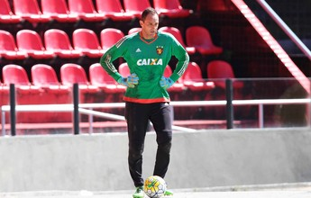 Magrão é vetado e Rithely segue dúvida no Sport contra o Palmeiras