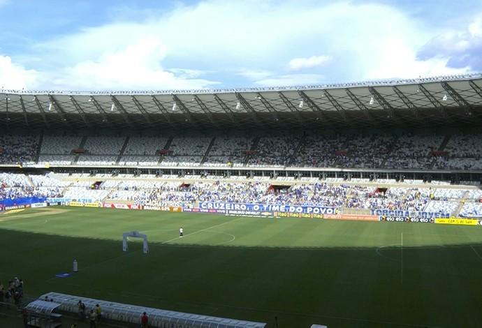 Mineirão Cruzeiro x Joinville (Foto: Reprodução/ Premiere)