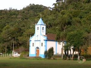 Igreja é um dos pontos turísticos de Visconde de Mauá (Foto: Reprodução/TV Rio Sul)