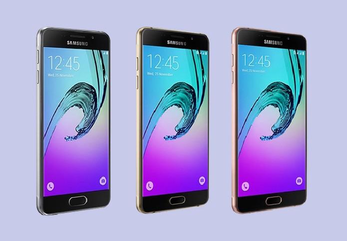 Galaxy A3, A5 e A7 (2016): veja qual celular da Samsung é o melhor para você (Foto: Arte/TechTudo)
