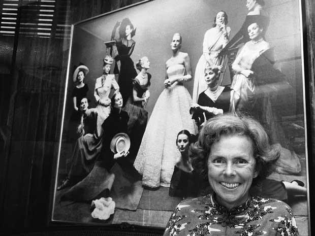 Eileen Ford, em imagem de arquivo de outubro de 1977, em Nova York. (Foto: Arquivo / Marty Lederhandler / AP Photo)
