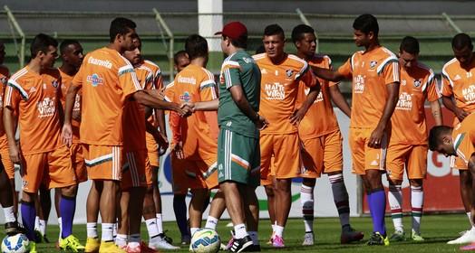sem pressa (Nelson Perez / Fluminense FC)