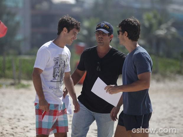 Gabriel Braga Nunes Ronny Kriwat  (Foto: Pedro Curi / TV Globo)