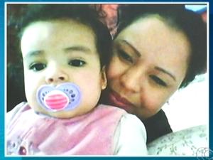 Daiane Alves Lopes perdeu a guarda dos dois filhos para o Conselho Tutelar da Noruega (Foto: Reprodução/TV Anhanguera)