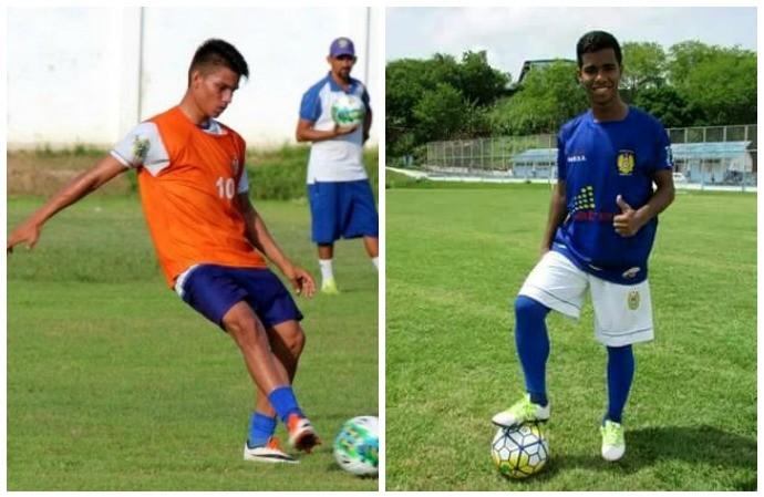 Jogadores da base do Nacional (Foto: Divulgação)