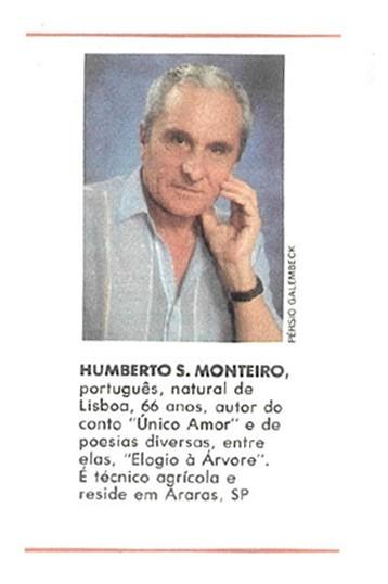 humberto-monteiro-cronica (Foto: Editora Globo)