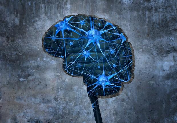 Sinapses cerebrais estilizadas (Foto: Thinkstok)