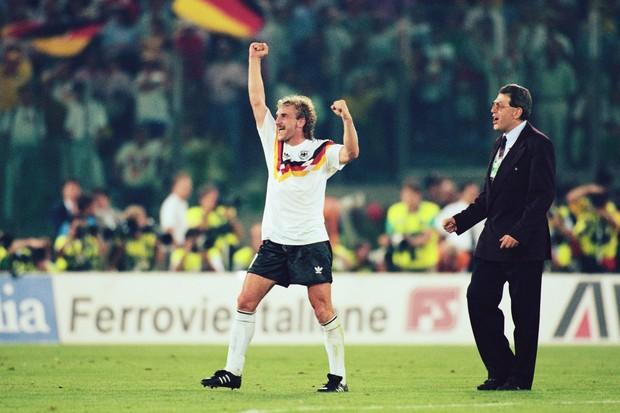Rudi Voeller Alemanha Ocidental (Foto: Getty Images)