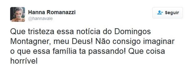 Hanna Romanazzi (Foto: Twitter / Reprodução)
