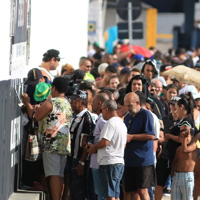 torcida figueirense ingressos (Foto: Luiz Henrique / FFC)