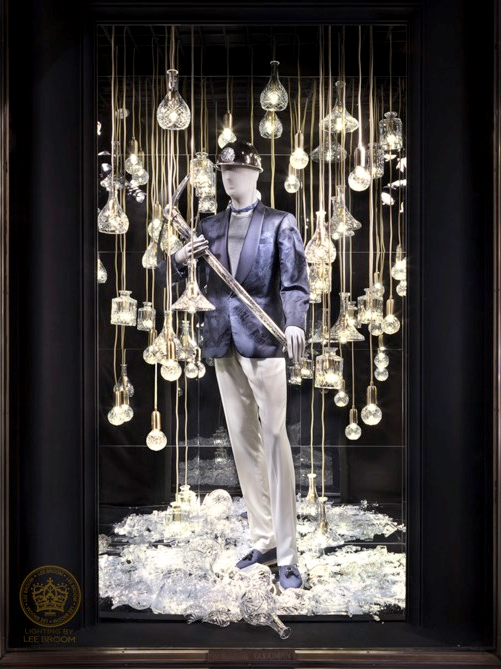 Vitrines de Lee Broom na Bergdorf Goodman Men's Store' (Foto: Divulgação)