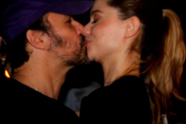 Alinne Moraes e Mauro Lima (Foto: Ag News)