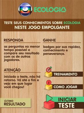 Globo Ecologia vai lançar aplicativo que testa conhecimentos sobre meio ambiente (Foto: Reprodução)