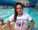 Gabi Roncatto treina com a missão de segurar o ritmo do 4x200 livre no Rio