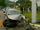 Colisão na Via Expressa em Friburgo, RJ, deixa três pessoas feridas