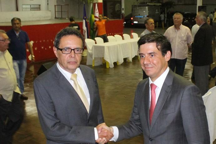 Marcos Freitas; Gustavo Ventura; Náutico (Foto: Aldo Carneiro / Pernambuco Press)